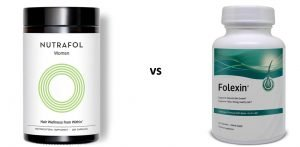 Nutrafol review vs Folexin