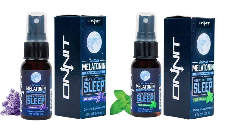lavendar and fresh mint flavors of Instant Melatonin