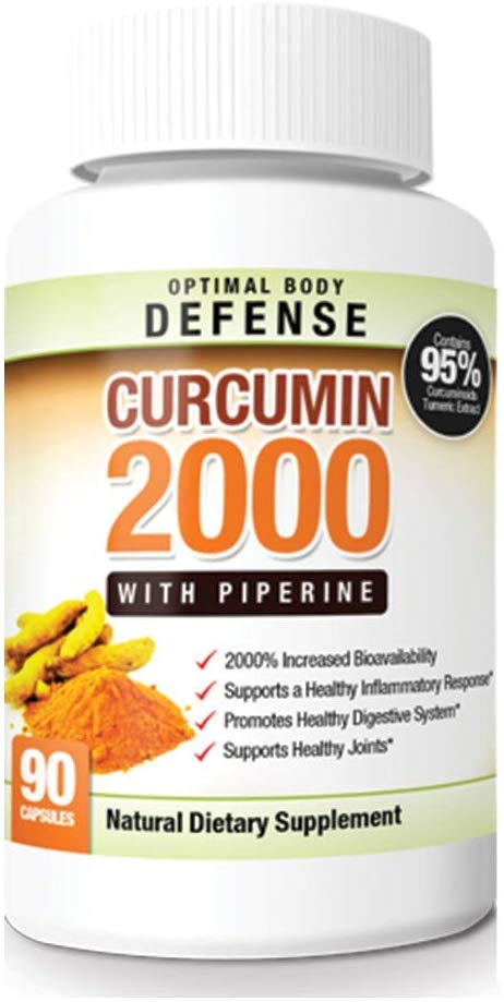 High absorbency turmeric supplement