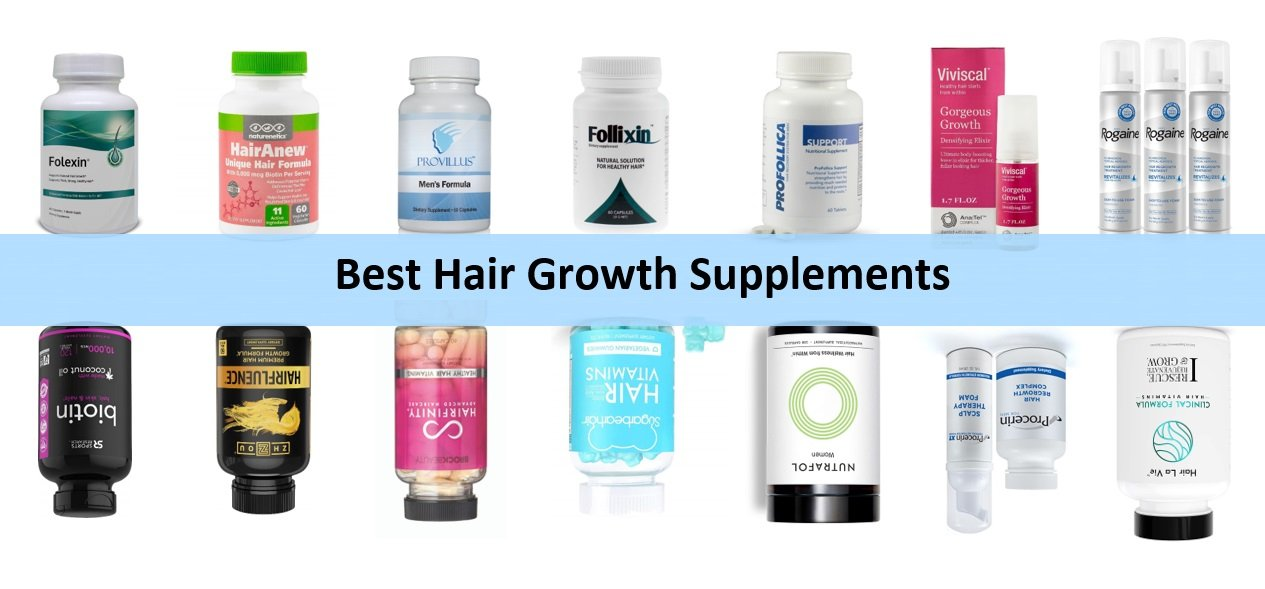 The 15 Best Hair Growth Supplements (Vitamins) that Work