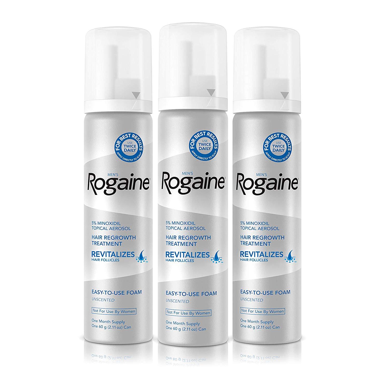 Rogaine hair loss supplement