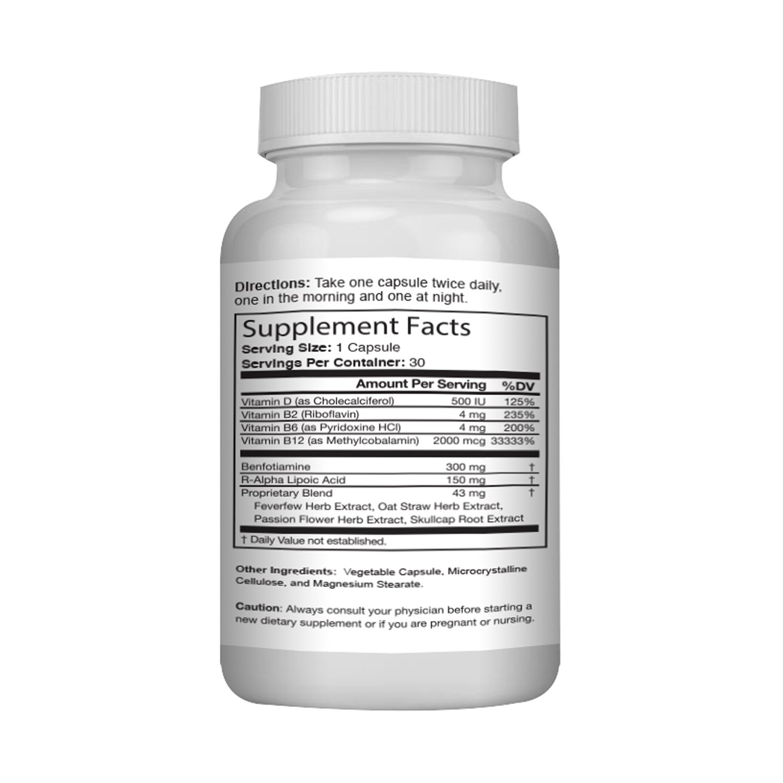 Naturopathy Nerve Renew Ingredients List