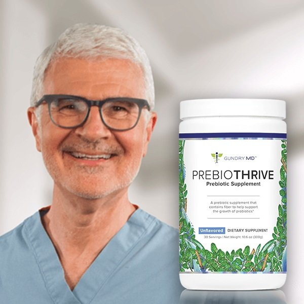 PrebioThrive and Dr. Gundry Image