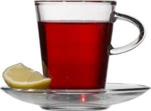 Black tea for grey hair