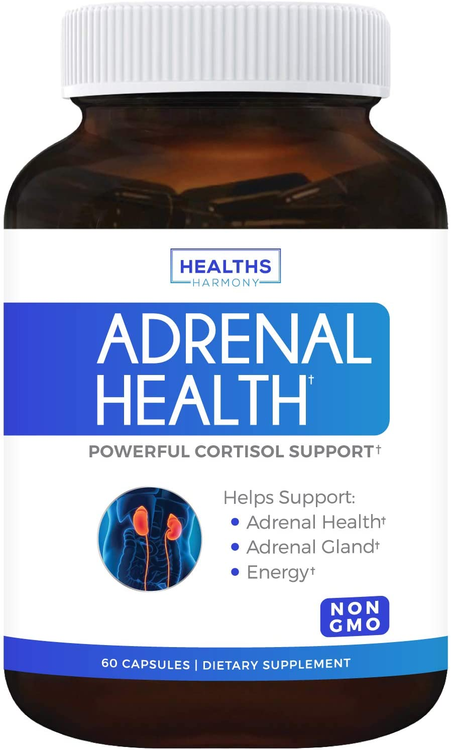 Healths Harmony Adrenal and Cortisol Manager