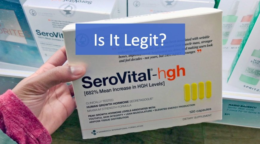 Is Serovital hgh Legit?