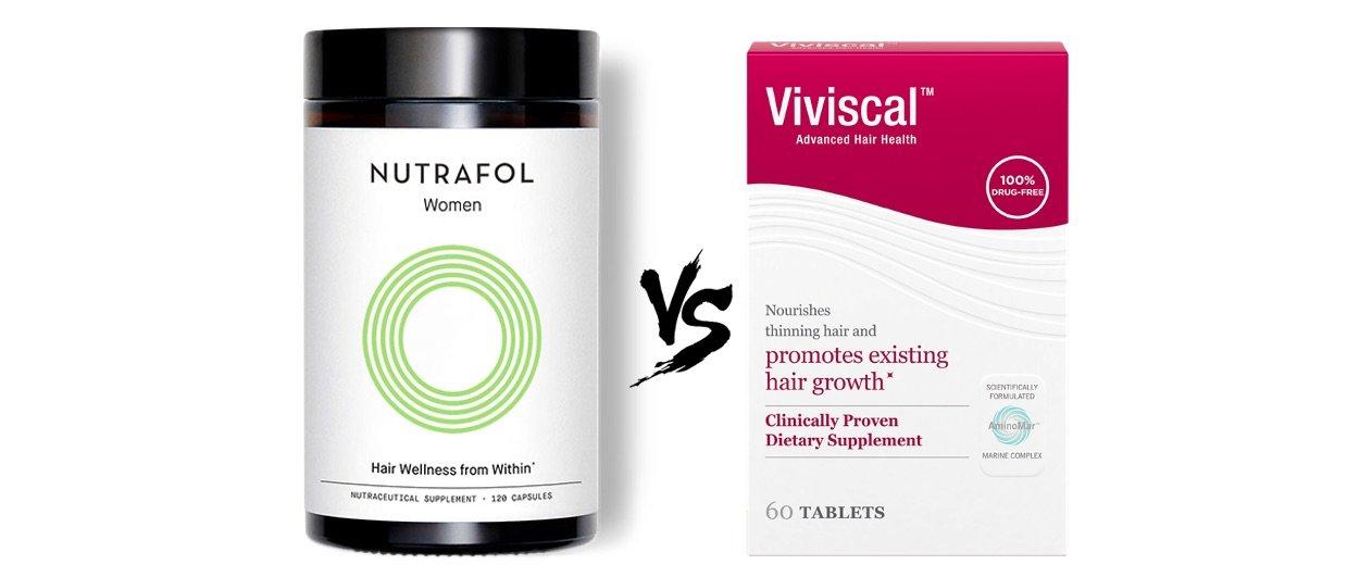 Nutrafol vs Viviscal