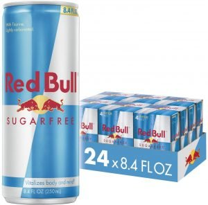 Red Bull Energy Drink for Focus